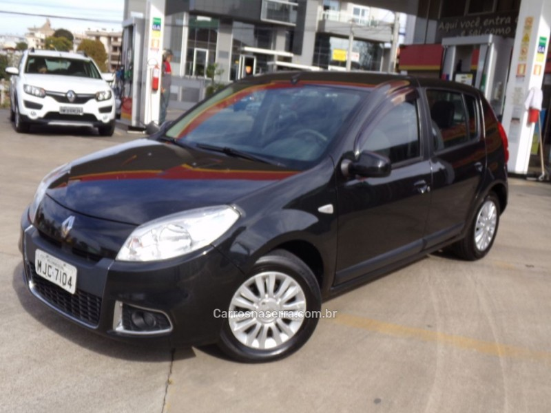 sandero 1.6 privilege 8v flex 4p manual 2012 caxias do sul