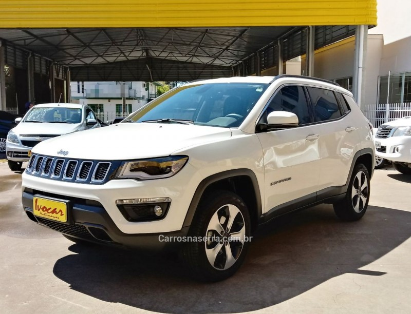 compass 2.0 16v diesel longitude 4x4 automatico 2017 vacaria