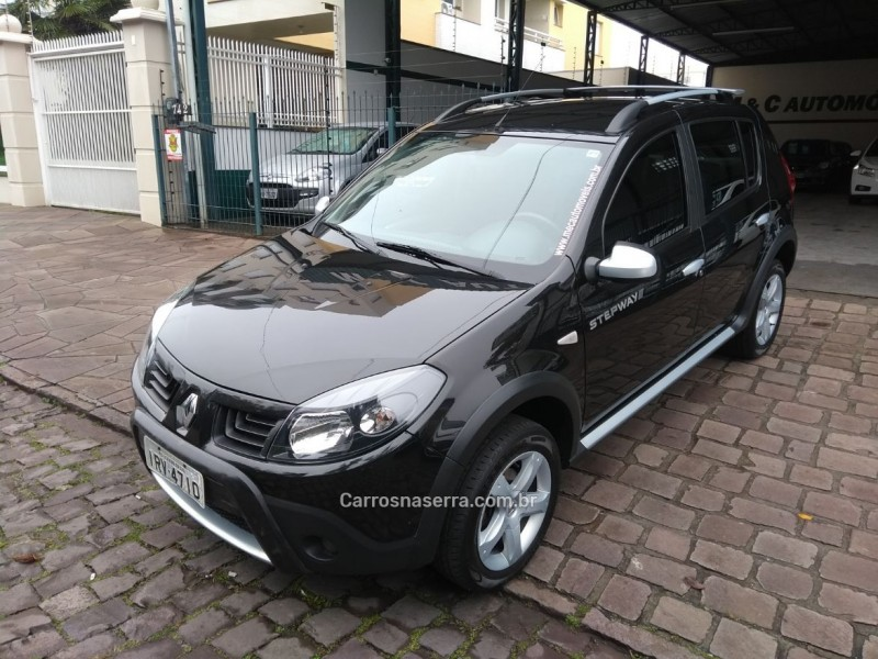 sandero 1.6 stepway 16v flex 4p manual 2011 caxias do sul