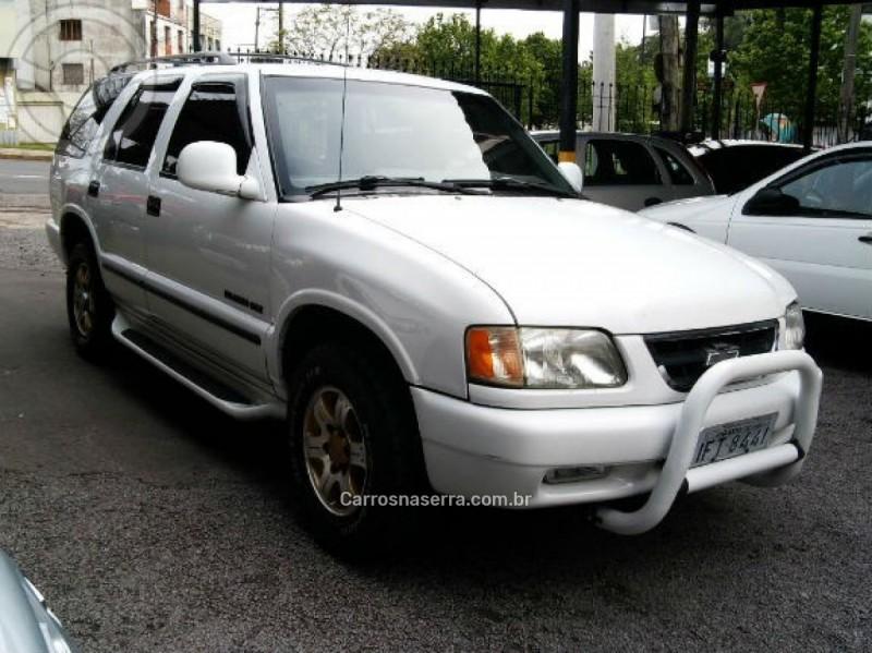 blazer 4.3 sfi dlx 4x2 v6 12v gasolina 4p manual 1997 caxias do sul