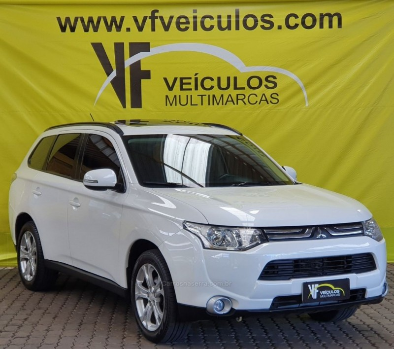 outlander 2.0 16v gasolina 4p automatico 2015 caxias do sul