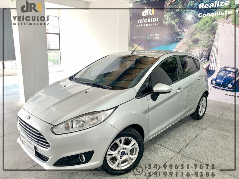fiesta 1.6 se hatch 16v flex 4p manual 2014 caxias do sul