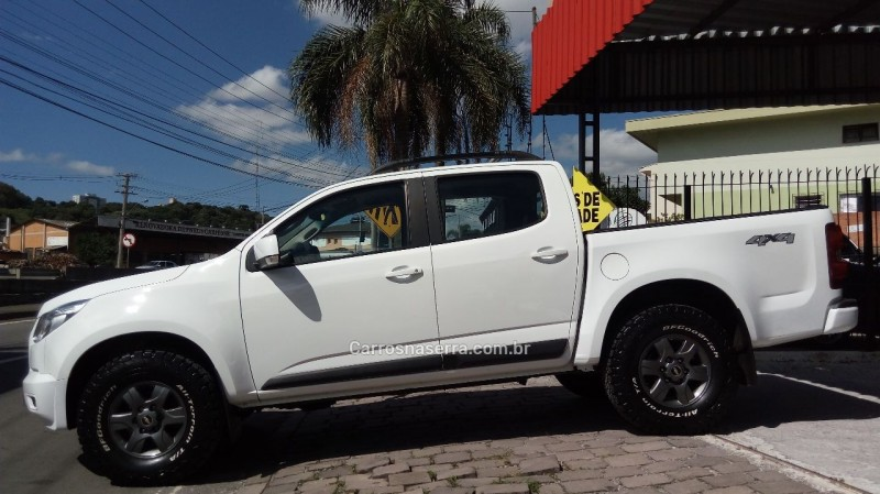 S10 2.8 4X4 CD 12V TURBO INTERCOOLER DIESEL 4P MANUAL - 2014 - CAXIAS DO SUL