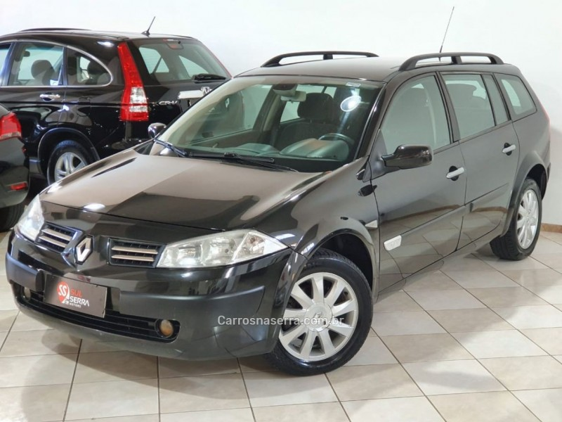MÉGANE 1.6 DYNAMIQUE GRAND TOUR 16V FLEX 4P MANUAL - 2013 - CAXIAS DO SUL