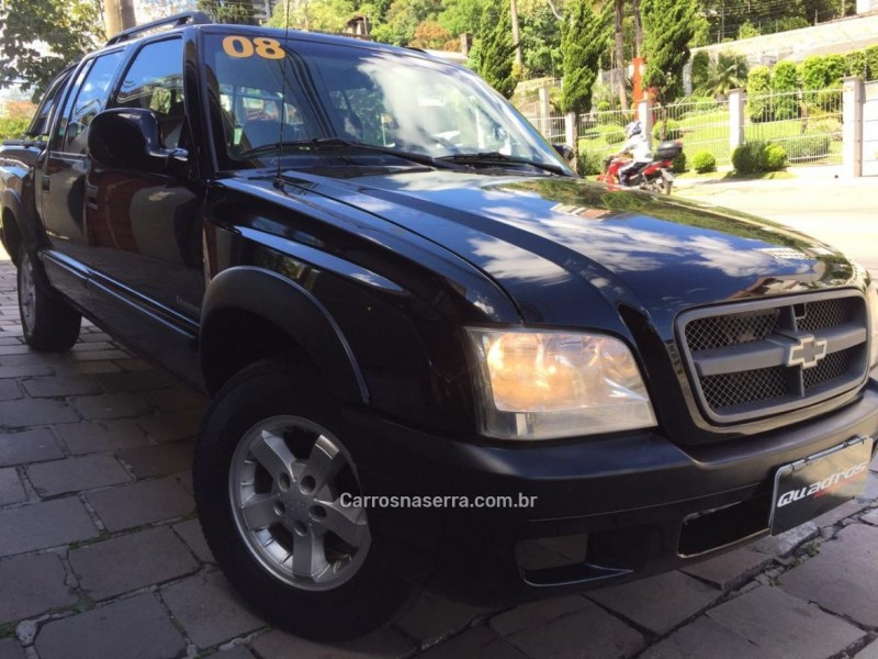 s10 2.4 mpfi advantage 4x2 cd 8v gasolina 4p manual 2008 caxias do sul
