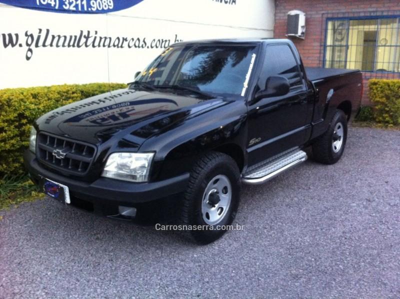 s10 2.8 4x4 cs 12v turbo intercooler diesel 2p manual 2003 caxias do sul