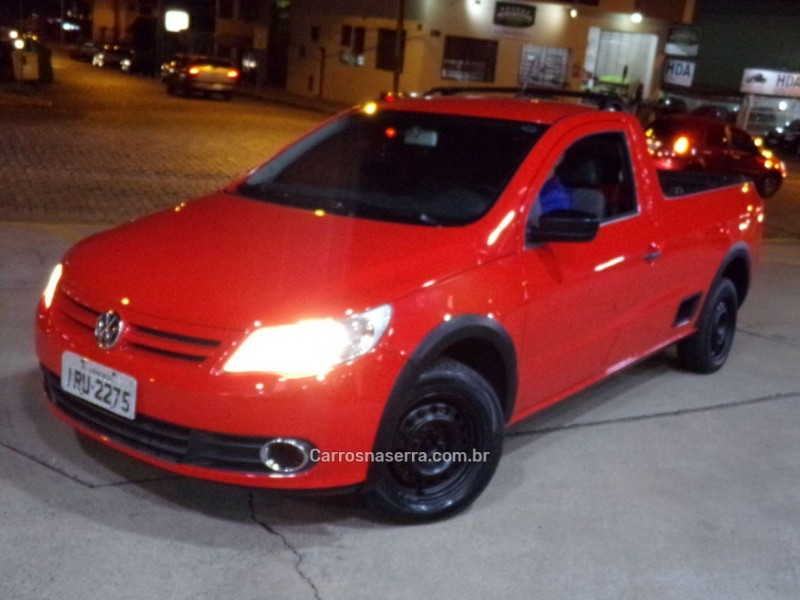 saveiro 1.6 mi cs 8v flex 2p manual g.v 2011 caxias do sul
