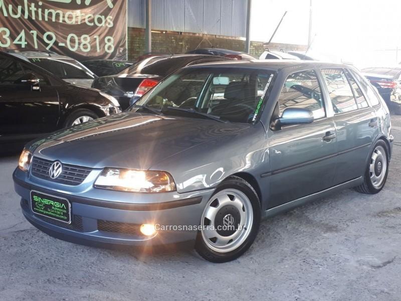 gol 1.0 mi 16v turbo gasolina 4p manual g.iii 2001 caxias do sul