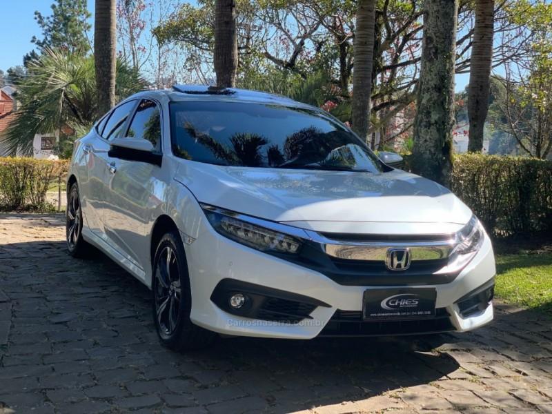 civic 1.5 16v turbo gasolina touring 4p cvt 2018 carlos barbosa