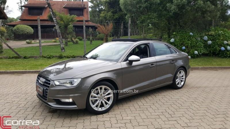 a3 1.8 20v 180cv turbo gasolina 4p automatico 2014 canela