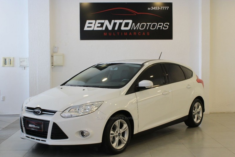 focus 1.6 se hatch 16v flex 4p powershift 2015 bento goncalves