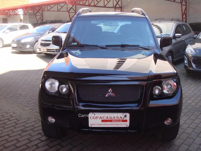 pajero tr4 2.0 4x4 16v 131cv gasolina 4p automatico 2007 caxias do sul