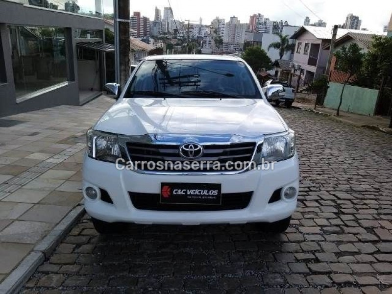 hilux 2.5 std 4x4 cd 16v turbo diesel 4p manual 2012 bento goncalves