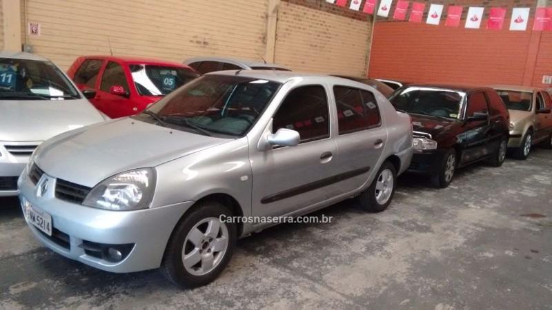 clio 1.6 expression sedan 16v gasolina 4p manual 2007 caxias do sul