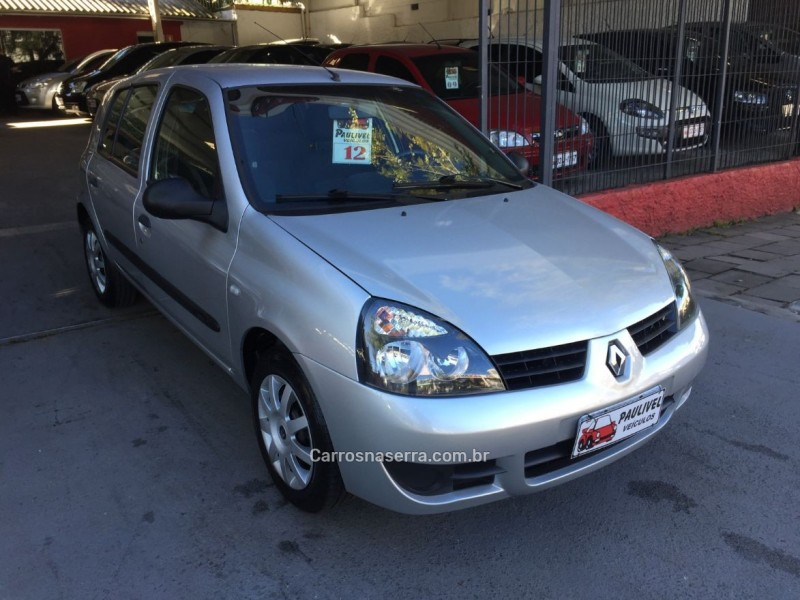 clio 1.0 campus 16v flex 4p manual 2012 caxias do sul