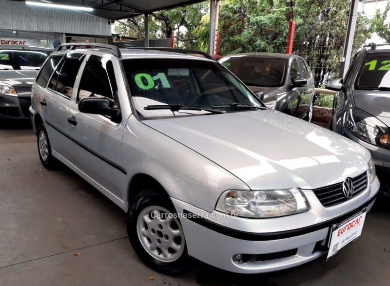 parati 2.0 mi 8v gasolina 4p manual g.iii 2001 caxias do sul
