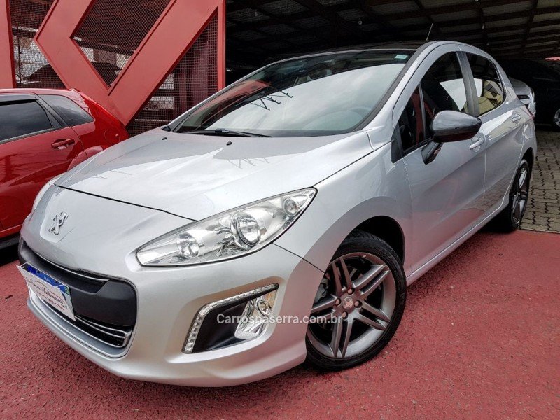 308 1.6 griffe thp 16v gasolina 4p automatico 2014 farroupilha