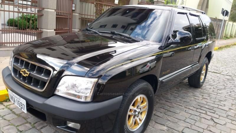 blazer 4.3 sfi dlx executive 4x2 v6 12v gasolina 4p automatico 2001 caxias do sul