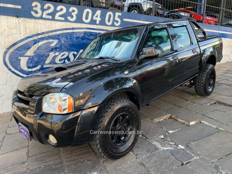 frontier 2.8 se 4x2 cd turbo eletronic diesel 4p manual 2003 caxias do sul