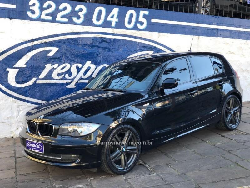 118i 2.0 top hatch 16v gasolina 4p automatico 2010 caxias do sul