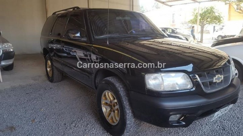 blazer 4.3 sfi dlx executive 4x2 v6 12v gasolina 4p manual 2000 caxias do sul