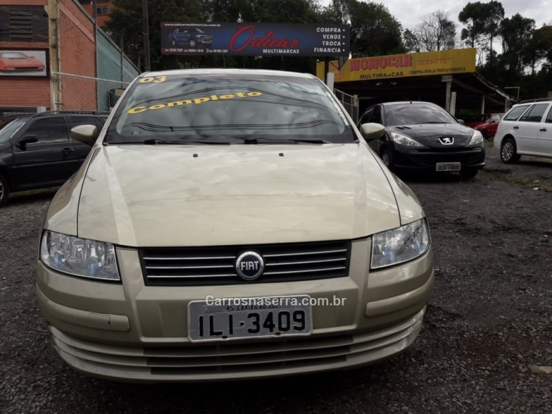 stilo 1.8 mpi 8v gasolina 4p manual 2003 caxias do sul