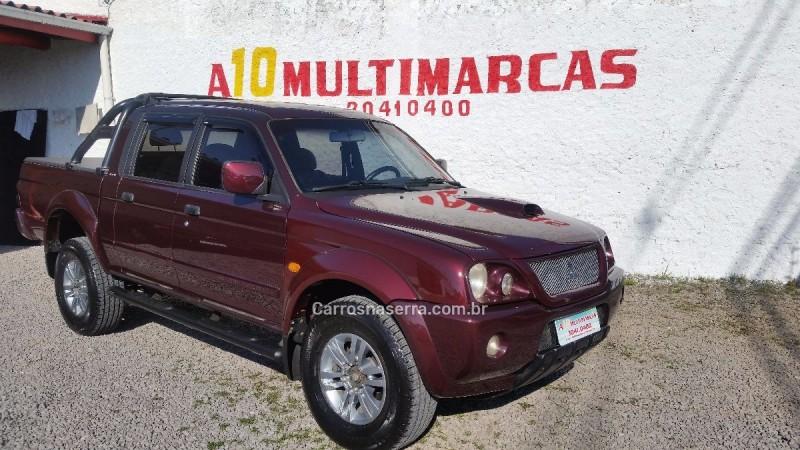 l200 2.5 sport hpe 4x4 cd 8v turbo intercooler diesel 4p automatico 2006 caxias do sul