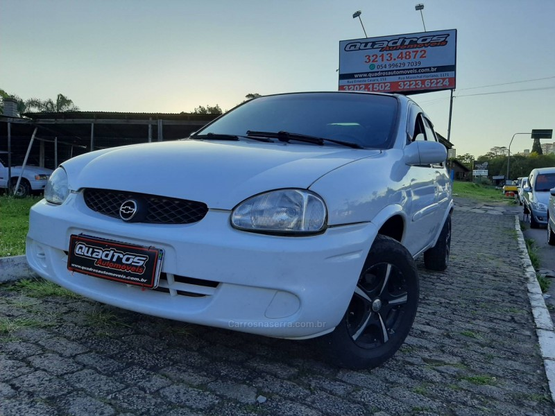 corsa 1.0 mpfi super sedan 16v gasolina 4p manual 2000 caxias do sul