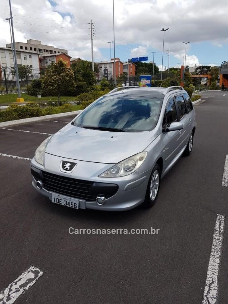 307 2.0 sw 16v gasolina 4p automatico 2008 caxias do sul