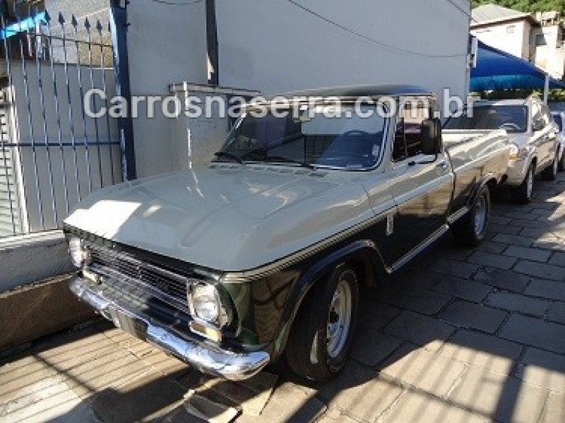 c10 2.5 cs 8v gasolina 2p manual 1977 caxias do sul