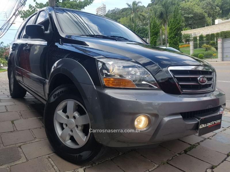 sorento 2.5 ex 4x4 16v turbo intercooler diesel 4p automatico 2007 caxias do sul