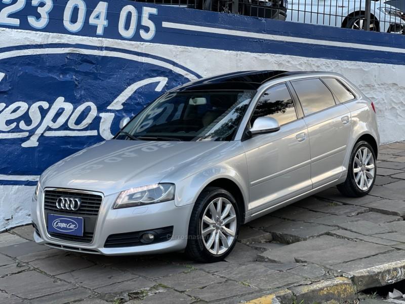 a3 2.0 tfsi sportback 16v gasolina 4p s tronic 2010 caxias do sul