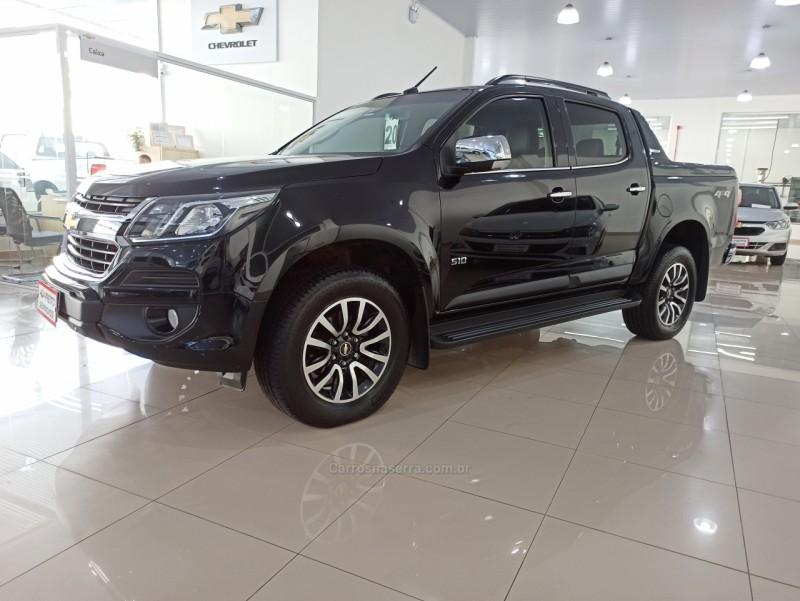 s10 2.8 high country 4x4 cd 16v turbo diesel 4p automatico 2020 nova prata
