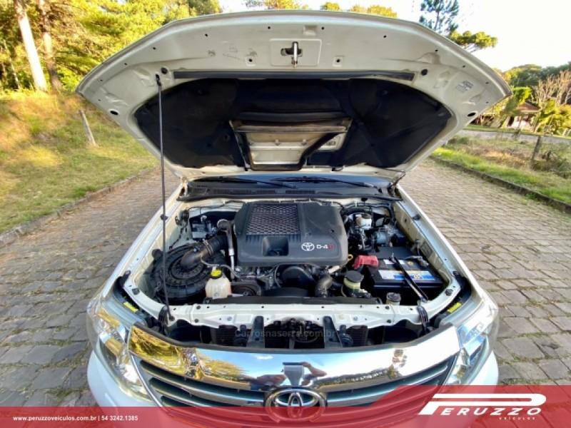 hilux sw4 3.0 srv 4x4 16v turbo intercooler diesel 4p automatico 2014 nova prata