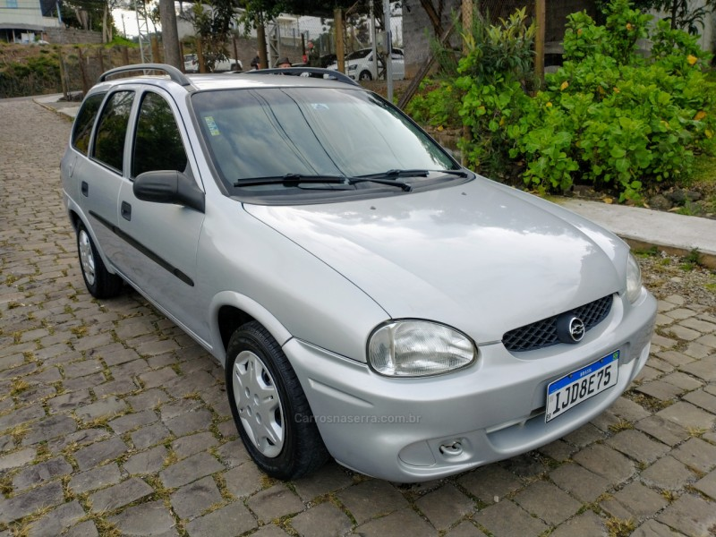 corsa 1.0 mpfi super wagon 16v gasolina 4p manual 2000 bento goncalves