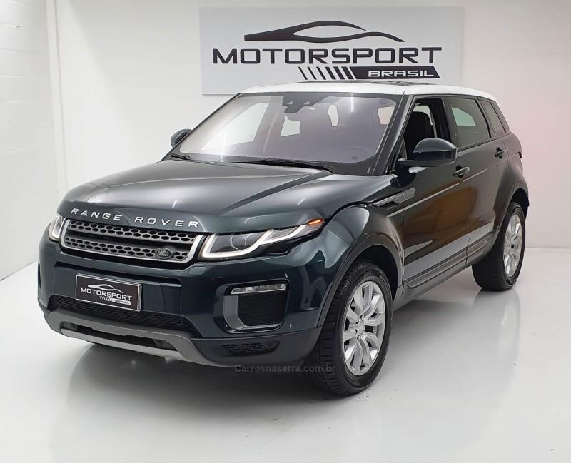 range rover evoque 2.0 se dynamic 4wd 16v gasolina 4p automatico 2016 bento goncalves