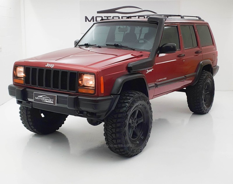 cherokee 4.0 sport 4x4 6i 12v gasolina 4p automatico 1998 bento goncalves