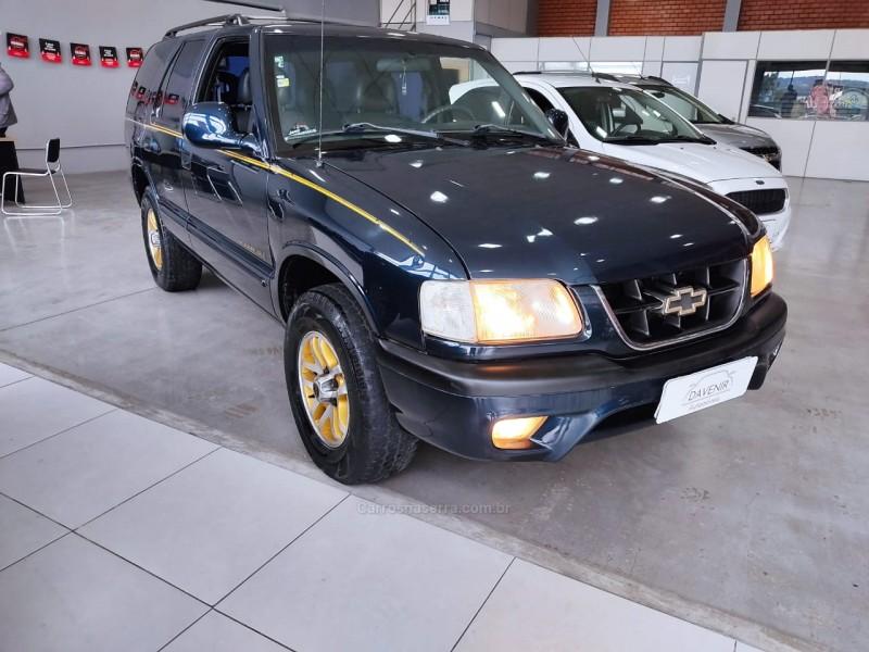 blazer 4.3 sfi dlx executive 4x2 v6 12v gasolina 4p manual 1999 taquara