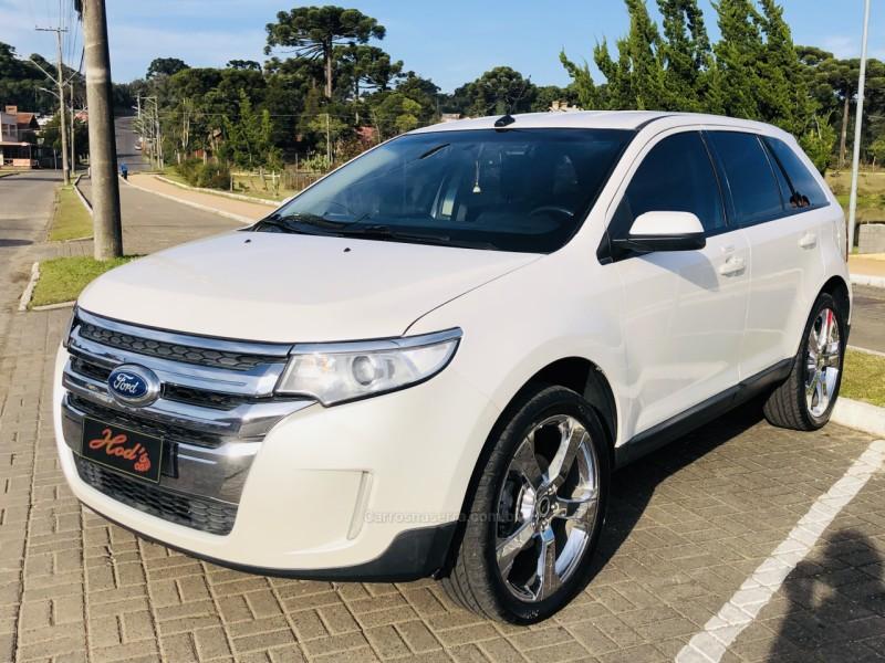 edge 3.5 sel awd v6 24v gasolina 4p automatico 2012 canela
