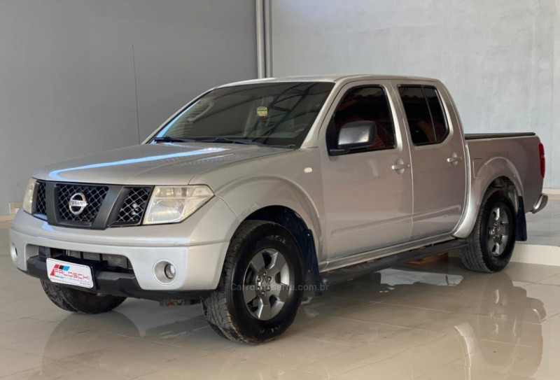 frontier 2.5 xe 4x2 cd turbo eletronic diesel 4p manual 2009 vacaria