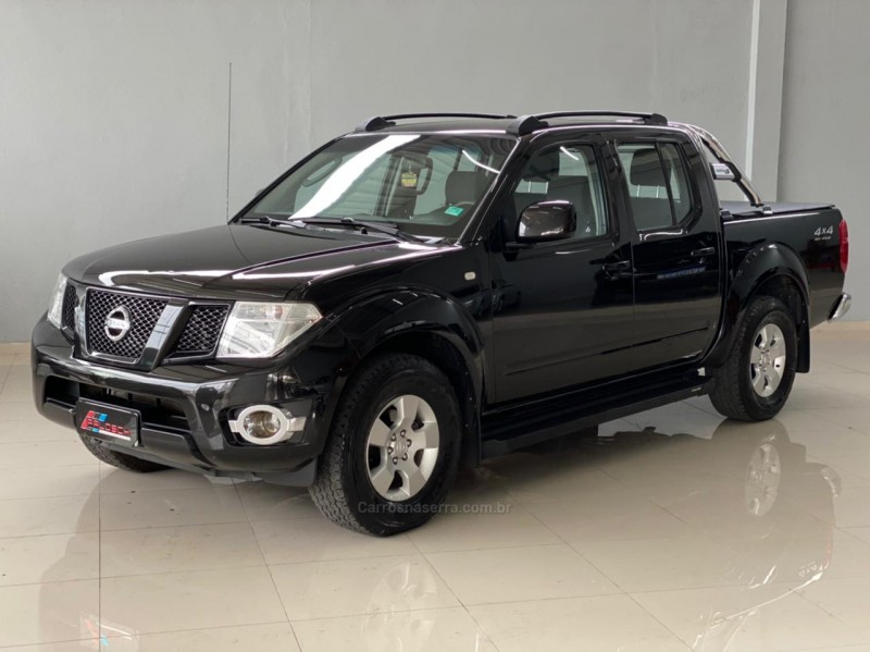 frontier 2.5 s 4x4 cd turbo eletronic diesel 4p manual 2016 vacaria