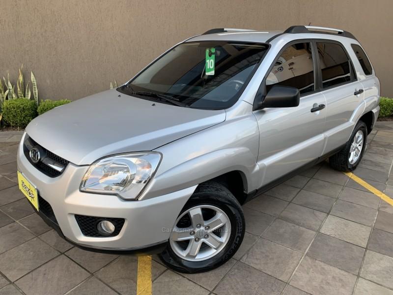 sportage 2.0 lx 4x2 16v gasolina 4p manual 2010 caxias do sul