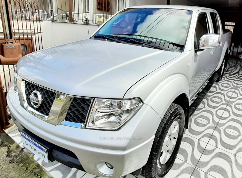 frontier 2.5 sel 4x4 cd turbo eletronic diesel 4p automatico 2008 caxias do sul