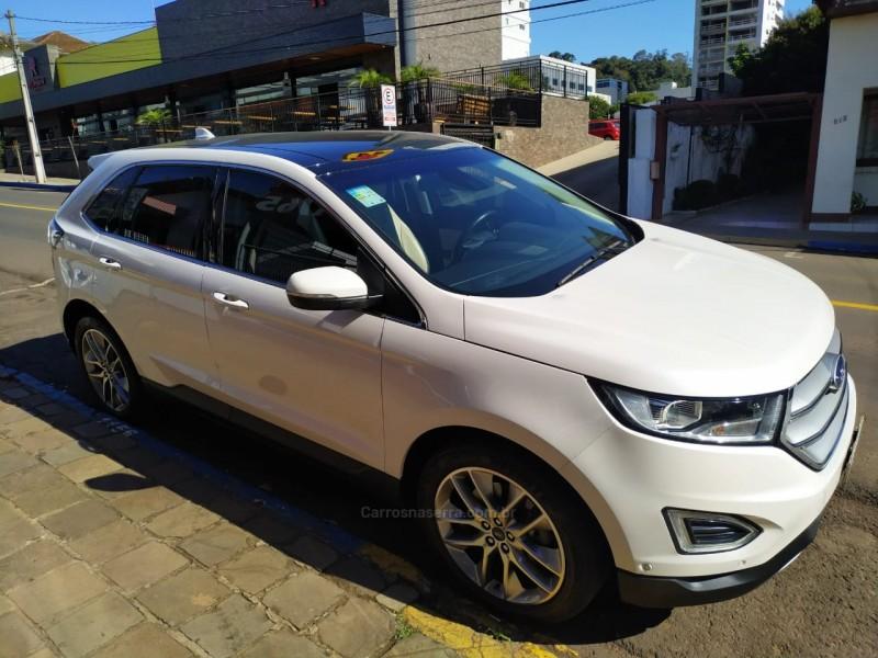 edge 3.5 v6 24v gasolina titanium awd automatico 2017 marau