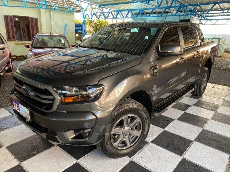 ranger 2.2 xls 4x4 cd 16v diesel 4p automatico 2020 nova prata