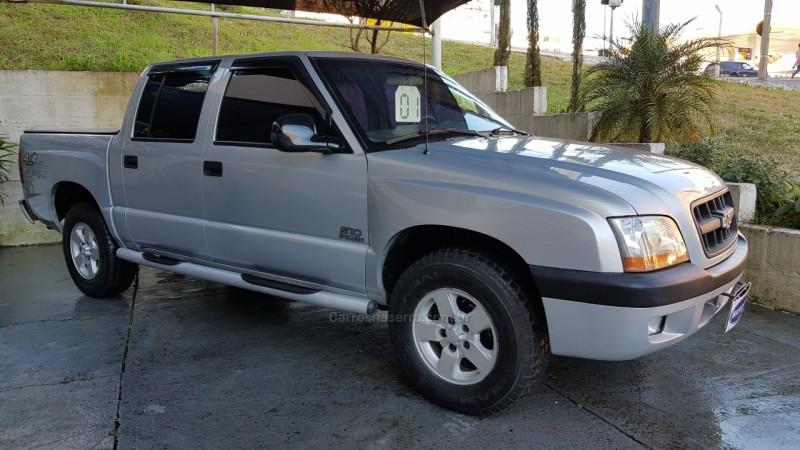 s10 2.8 4x4 cd 12v turbo intercooler diesel 4p manual 2001 caxias do sul