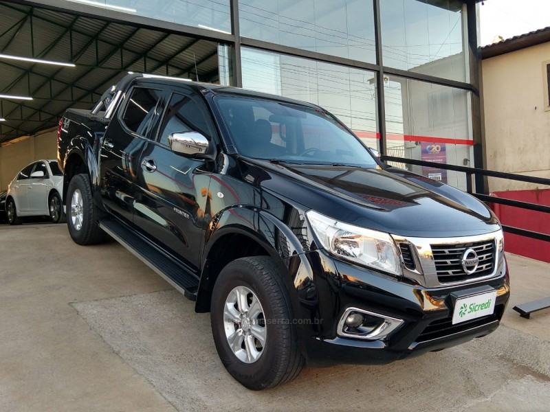 frontier 2.3 se 4x4 cd turbo eletronic diesel 4p automatico 2019 vacaria
