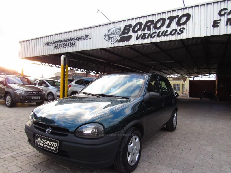 corsa 1.0 mpfi super sedan 16v gasolina 4p manual 1997 bento goncalves