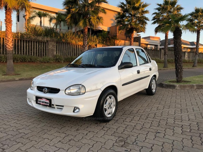 corsa 1.6 mpfi classic sedan 8v gasolina 4p manual 2004 estancia velha