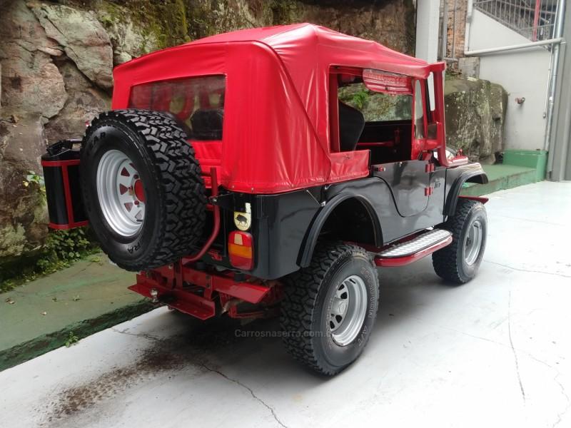 CJ 5 2.0 4X4 GASOLINA 2P MANUAL - 1973 - CAXIAS DO SUL